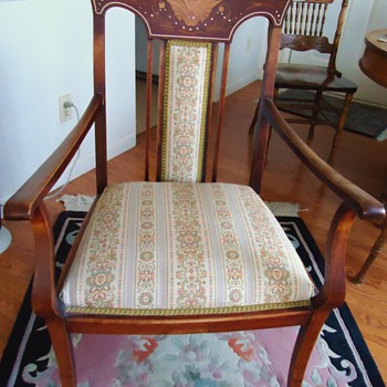 Art Nouveau Chair or Edwardian? - Furniture