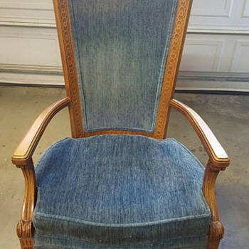 Tall Arm Chair - Furniture