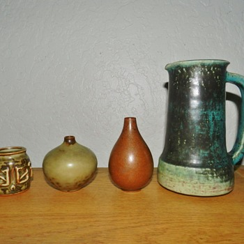 Saxbo and Royal Copenhagen - Art Pottery