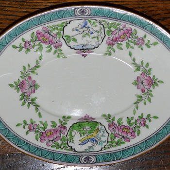 Minton/Birks oval plate - China and Dinnerware