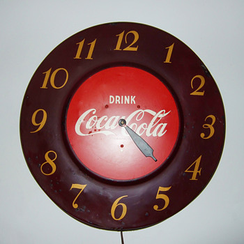 Coca-Cola Clock - Coca-Cola