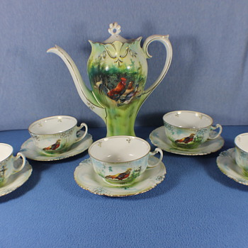 RS Prussia Coffee Set - China and Dinnerware