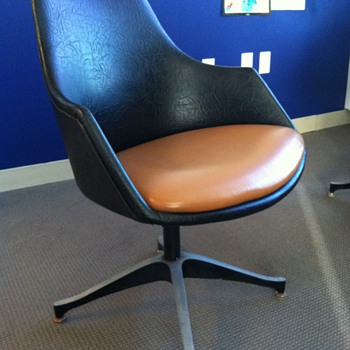 Vinyl office chairs - Furniture