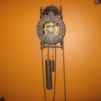 old wall clock - Clocks