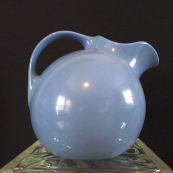 Mistaken Identity...Hall Pottery Pitcher