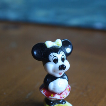 Sweet Minnie Mouse Figurine - Movies