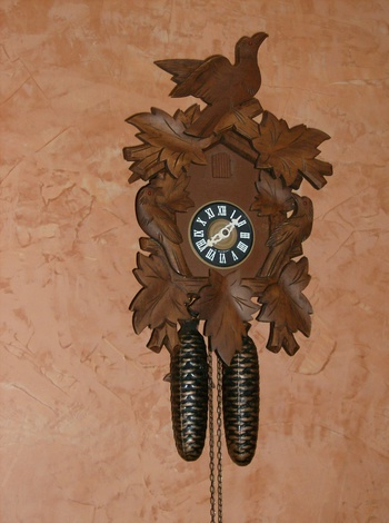 1950 39 s cuckoo clock collectors weekly - Motorcycle cuckoo clock ...