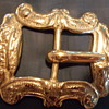 Beautiful brass belt buckle