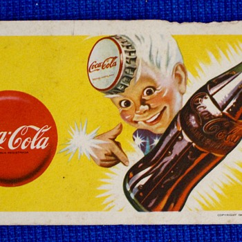 Coca Cola Postcard - Coca-Cola