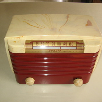 Bendix Tube Radio Model 115 from 1948 soooo cooool!!! - Radios