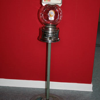 Ford gumball machine stand