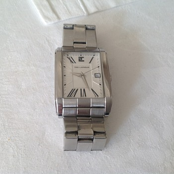 90&#039;s Ted Lapidus wristwatch.
