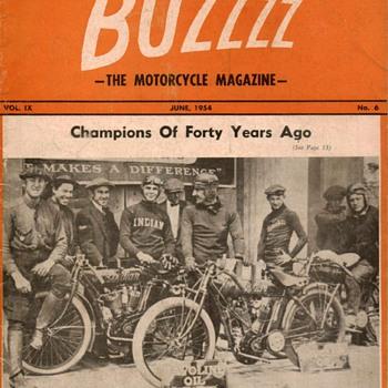 1954 - BUZZZZ Motorcycle Magazine