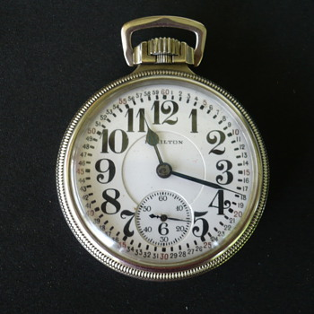 Hamilton Pocketwatch - Pocket Watches