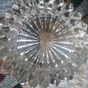 crystal ashtray waterford? gorham?