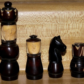 Tagua Nut Chessmen - Games