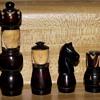 Tagua Nut Chessmen
