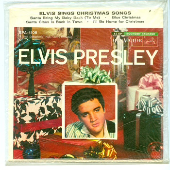 Elvis sings Christmas songs STILL SEALED - Records