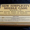 Complete Simplicity Antique Needle Case Store Display