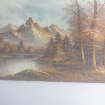 my favorite oil painting