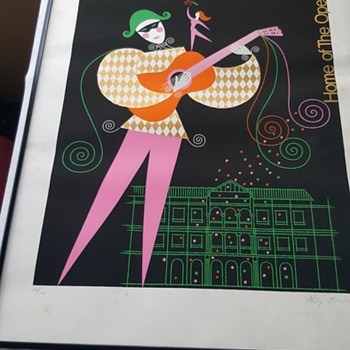 Alex Steinweiss Signed and Numbered