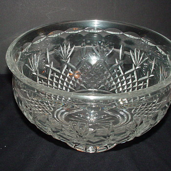 Waterford Killarney Bowl - Glassware