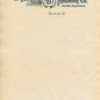Susquehanna Brewing Company Stationary