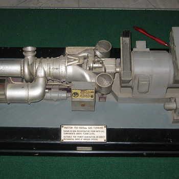 Edward Exley gas turbine engine model