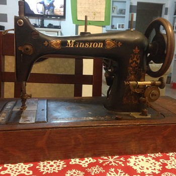 """mansion"" labeled sewing machine. - Sewing"