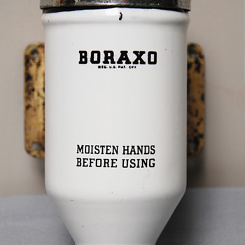 Boraxo Powdered Soap Dispenser- Junk Treasures Collection