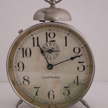 Lord Durbar Alarm Clock - Clocks