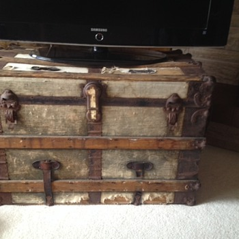 Trunk Used to Immigrate from Germany in the 1950s- Info?