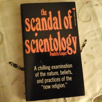 First Edition Copy of The Scandal of Scientology