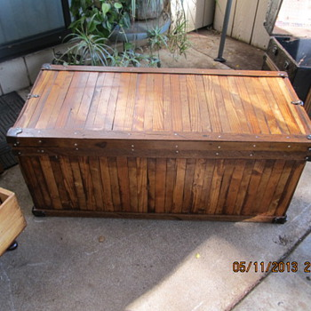 My big find Trunk - Furniture