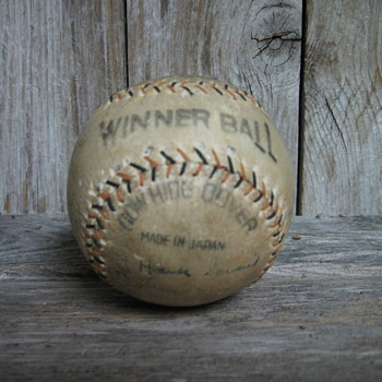 1935 Team Autographed San Antonio Missions Baseball - Baseball
