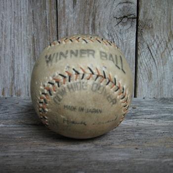 1935 Team Autographed San Antonio Missions Baseball