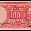 Chile - 10 Centesimos/100 Pesos Bank Note