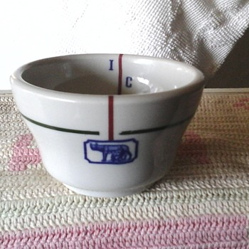 unknown sterling China custard cup  - China and Dinnerware