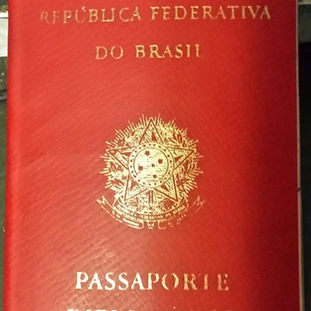 Brazil Diplomatic passport.