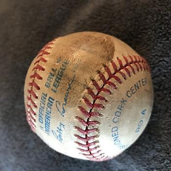 1968 World Series Tigers Baseball Autographed - Baseball