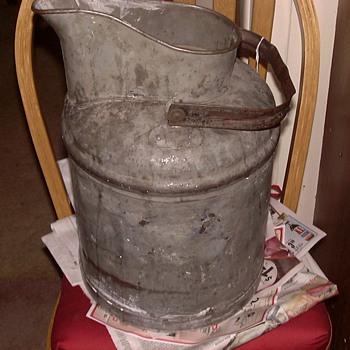 OLD 5 GALLON CAN