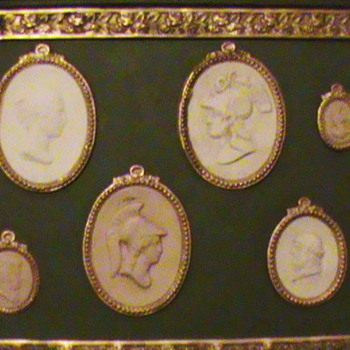 Cameo Plaque - Fine Jewelry