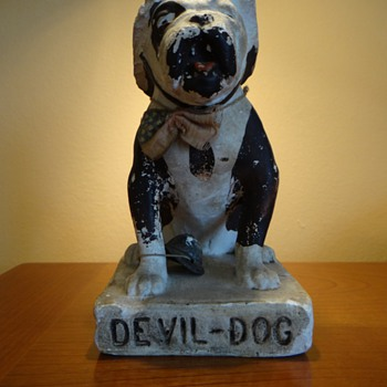 RARE MARINES DEVIL DOG   1918 - Military and Wartime