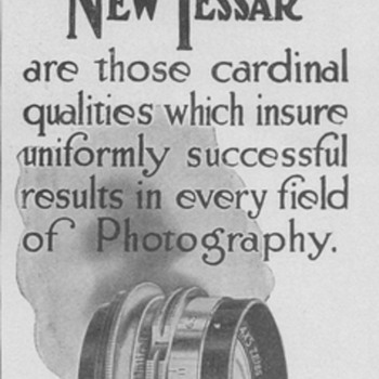 1909 - Bausch &amp; Lomb Advertisement 2