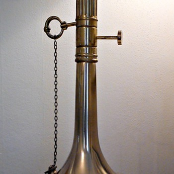 Electrified Oil Lamp?