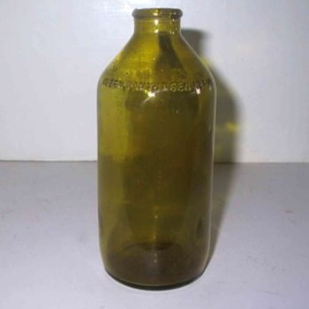 Light green Bottle - Bottles