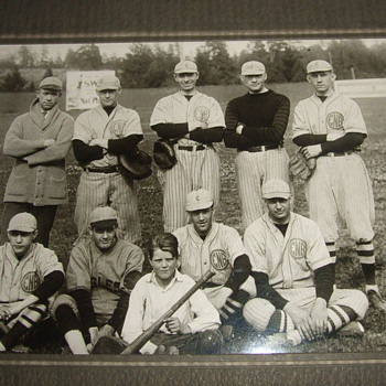 1928 Baseball Team Photograph - Photographs