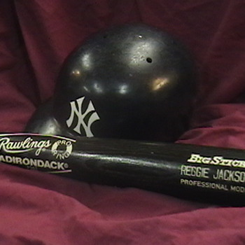 Reggie Jackson Game Used Bat - Baseball