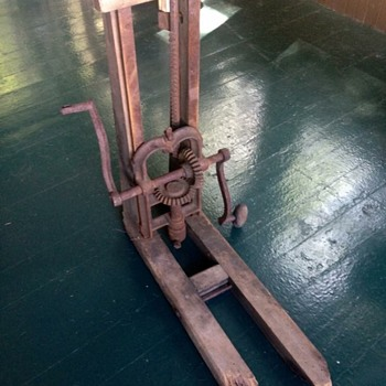 Antique Beam Auger