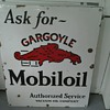 Gargoyle Mobiloil Sign